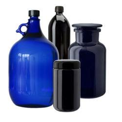 Fľaše z farebného skla