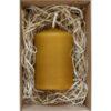 malá sviečka z včelieho vosku (Eko Knôtik)