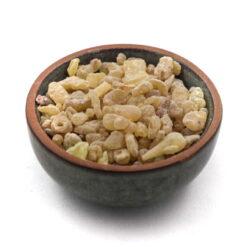 kadidlo olibanum v nádobke