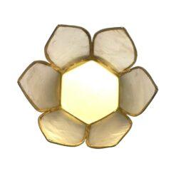 čajový svietnik lotos malý zhora