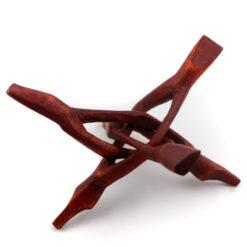 drevená trojnožka na kadidelnicu mušlu 800x800