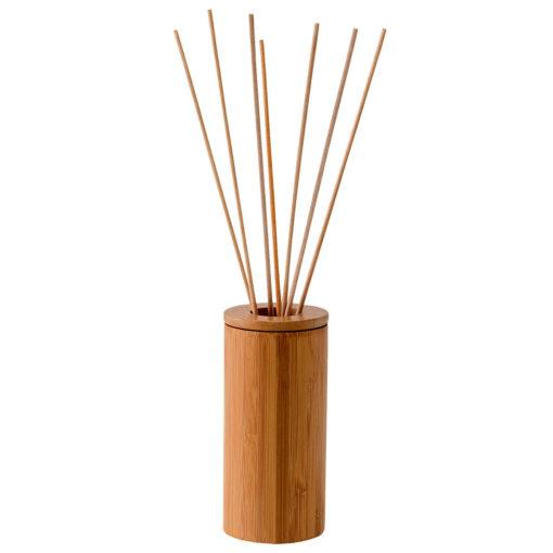 Dekoračná bambusová nádoba na difúzne paličky