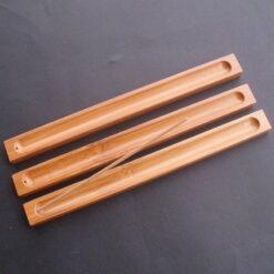 držiak tyčiniek z bambusového dreva