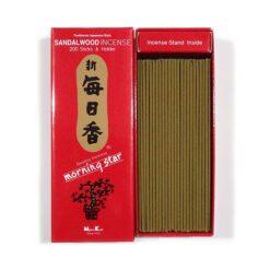 Japonské vonné tyčinky Morning Star - Santalové drevo