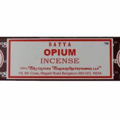 vonné tyčinky satya ópium